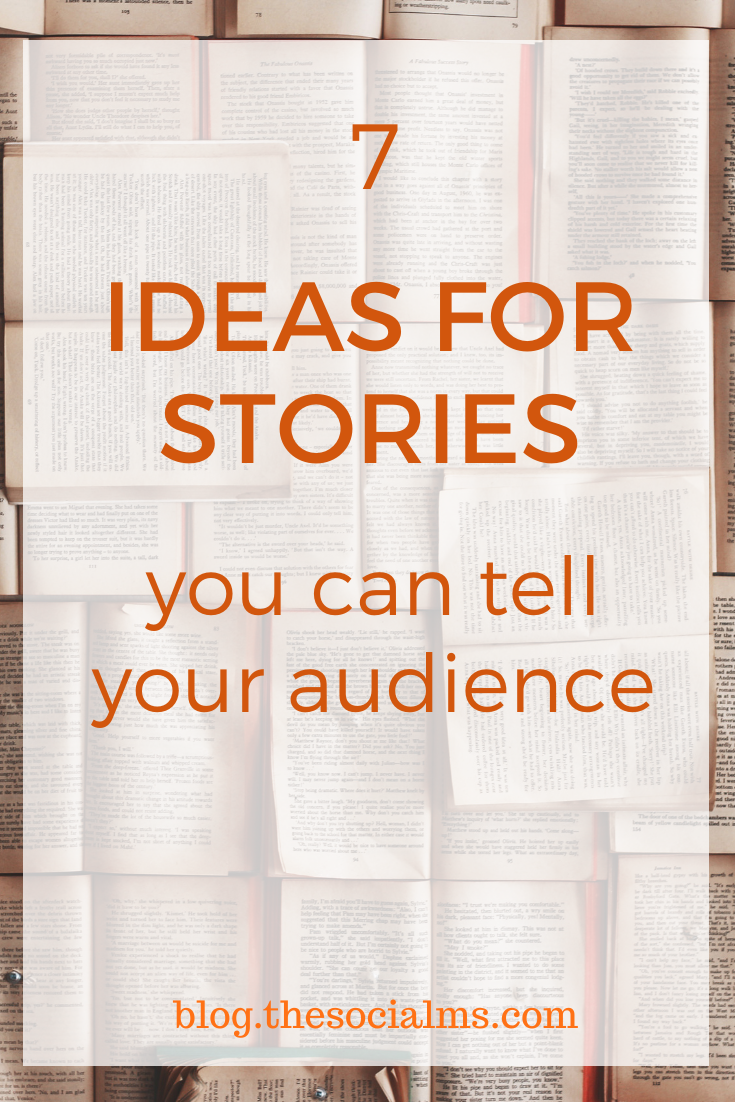 believe me, there are many stories out there, which you can tell and people will like to read your stories. To help you come up with some ideas and start out with your own storytelling, here are some examples of what kind of stories you could tell #storytelling #blogpostcreation #blogstories #contentcreation #blogwriting #blogcontent #blogpost