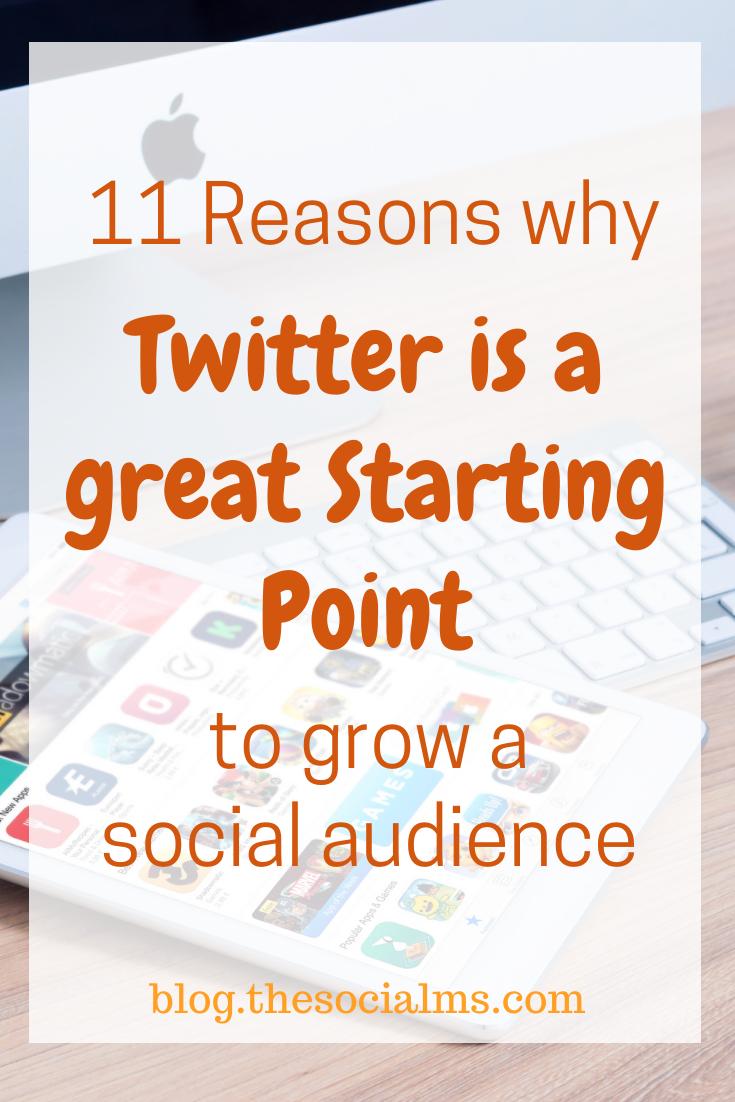 Here are my reasons, why every entrepreneur should be active on Twitter. #twitter #twittertips #twittermarketing #socialmedia #socialmediatips #smallbusinessmarketing #onlinemarketing #digitalmarketing
