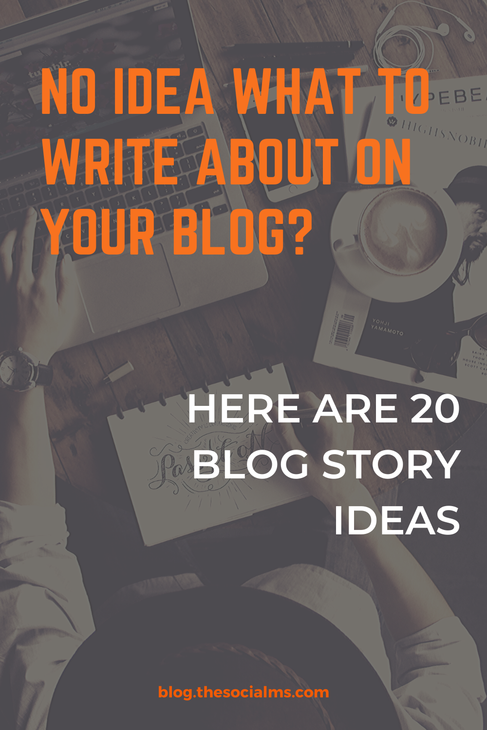 The lack of ideas for blog stories can become a problem. Here is a list of ideas for stories you can use on your blog to have a little more variety in your posts. #blogpostideas #bloggingtips #blogcontent #blogwriting #blogcontentcreation #contentideas #contentcreation