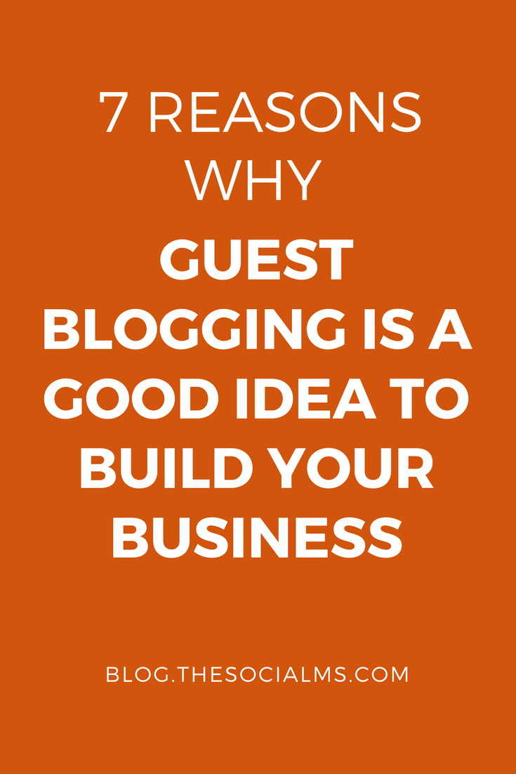 Guest blogging has many advantages. It can help your online marketing efforts with building followers, signups, connections, traffic and backlinks.