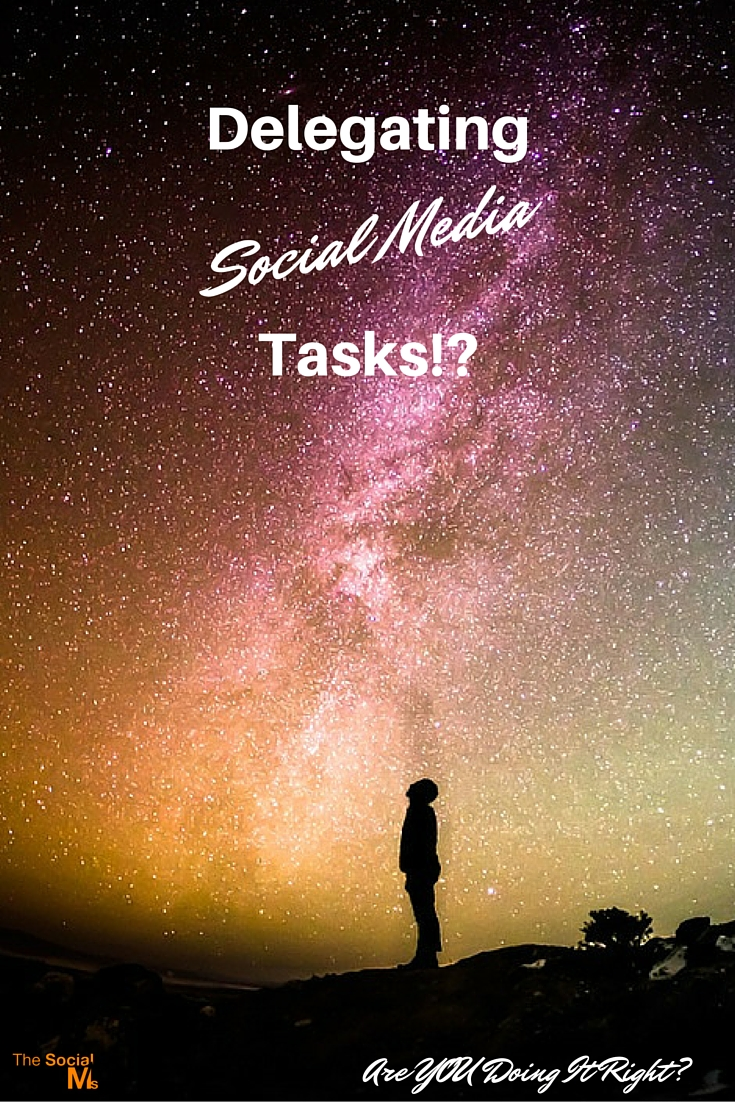 Delegating social media tasks within your team is far more complicated than you would think. Why? You will see in a few minutes. But first, I need to...