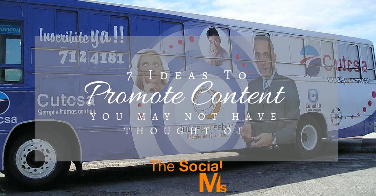 Promote Content