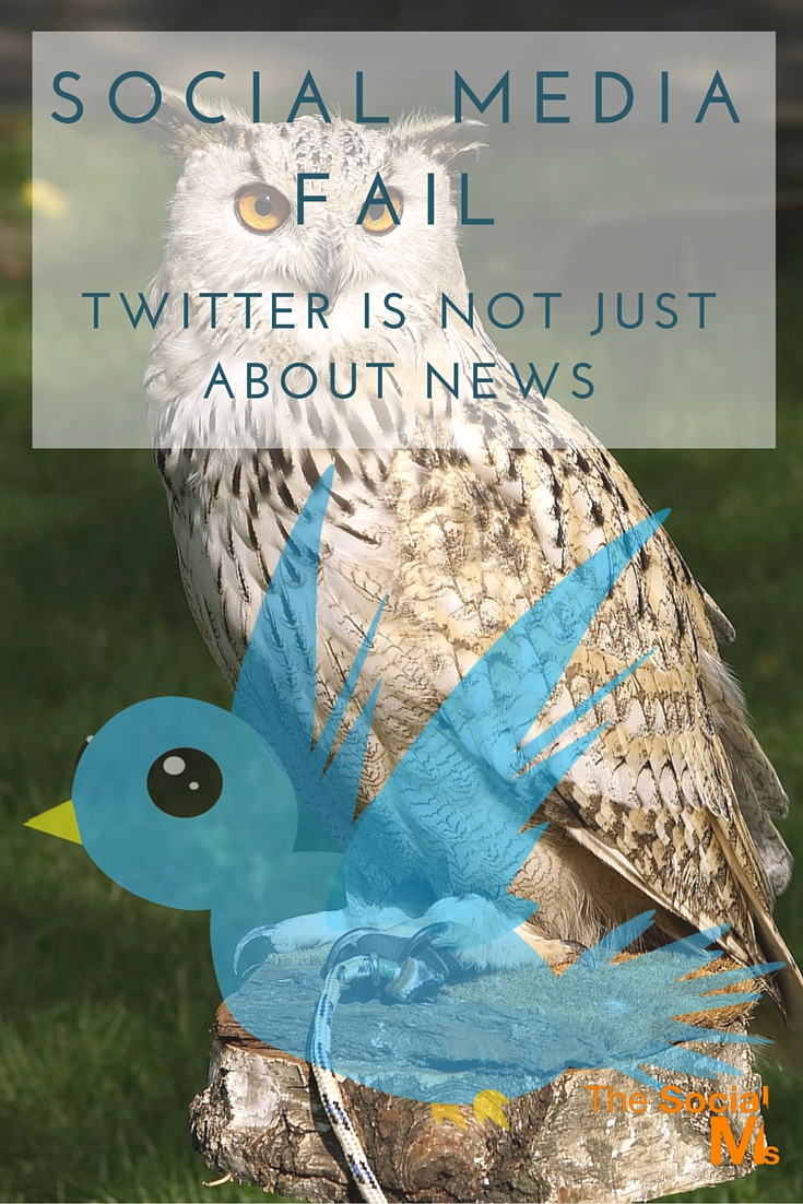 Twitter is not necessarily about the big numbers or the most recent news. It is about the right information for the right people at the right time.