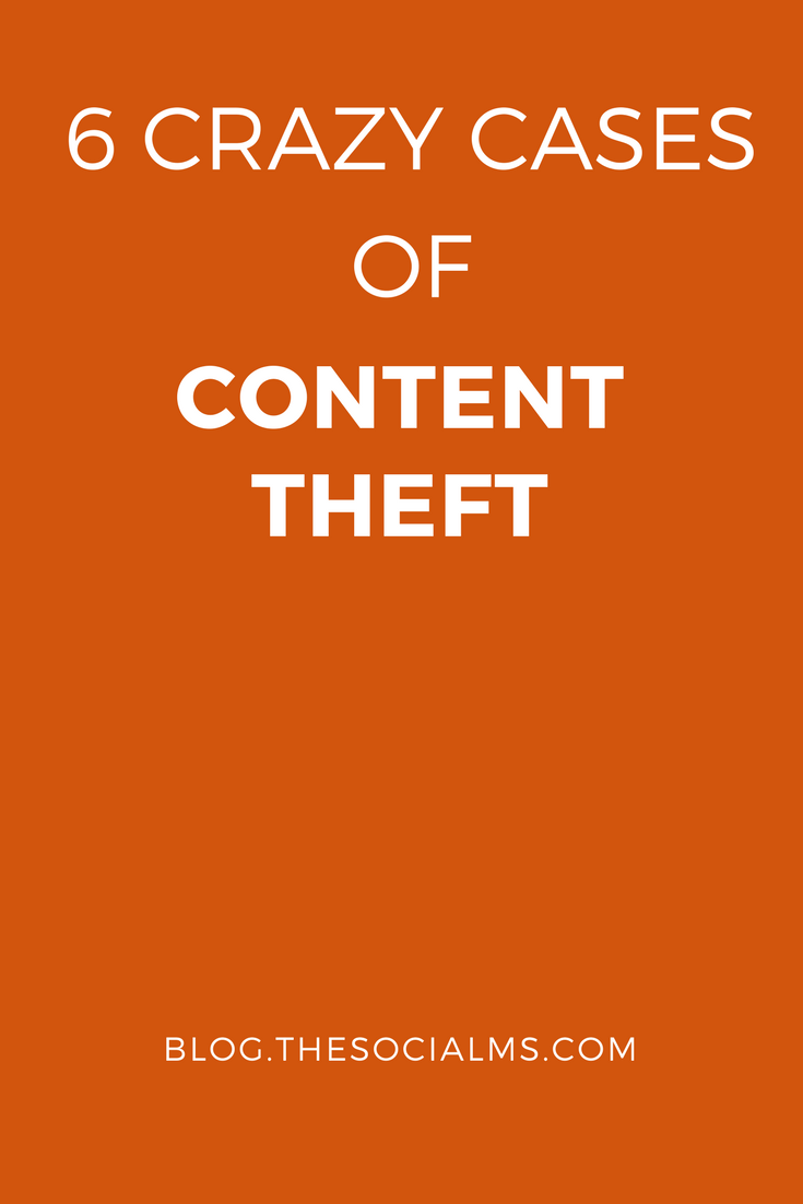 Your content is what is building your business. Content theft is not going to make you a trusted expert in your niche: Stealing is a crime!