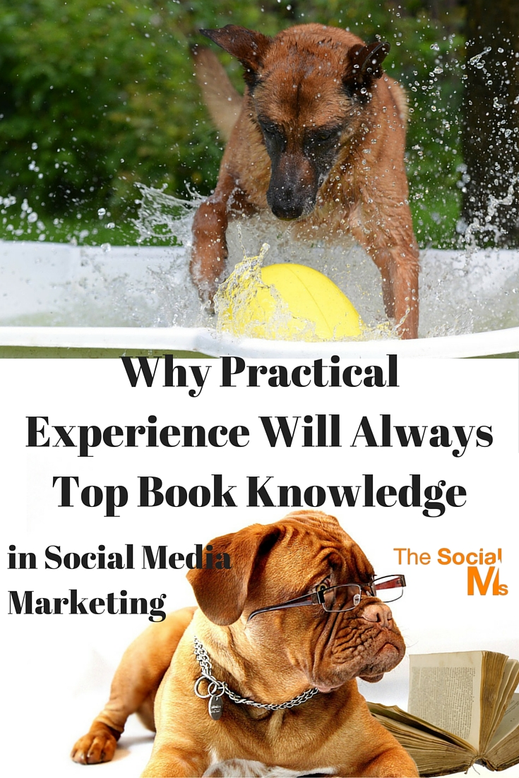 In Social Media Marketing experience counts more than book knowledge. Following best practices and rules may not yield the results you seek.