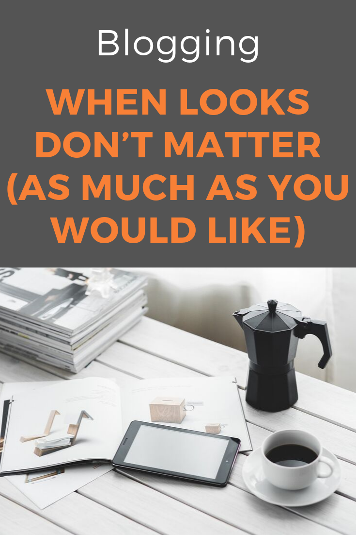 Visuals don't make the success of your blogging - at least not when starting a new blog. #bloggingtips #bloggingsuccess #startablog #bloggingforbeginners