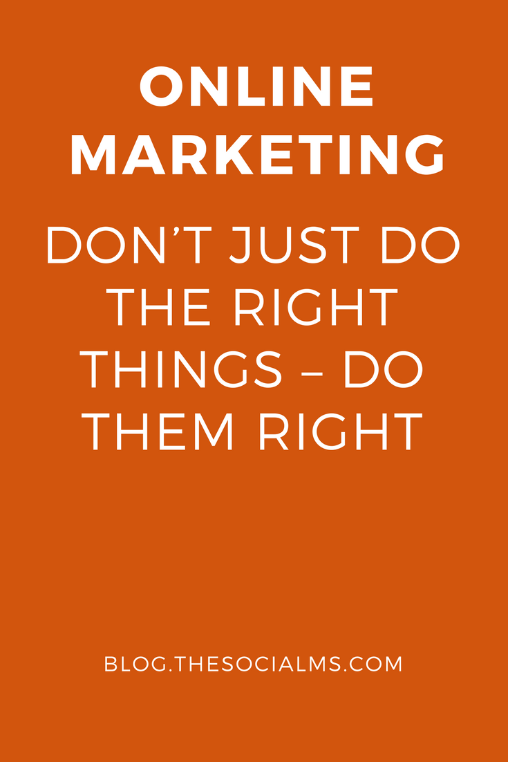 Many people complain that some online marketing methods do not work for them. The truth is they may be using the right methods but not be using them right.