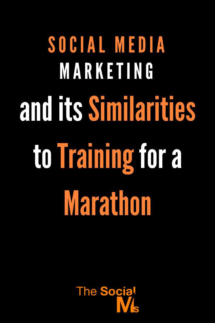 there are many similarities between training for a marathon and Social Media marketing. Here is what you can learn from marathon training for your social media marketing. #socialmedia #socialmediamarketing #socialmediatips #smallbusinessmarketing #onlinebusiness #marketingstrategy