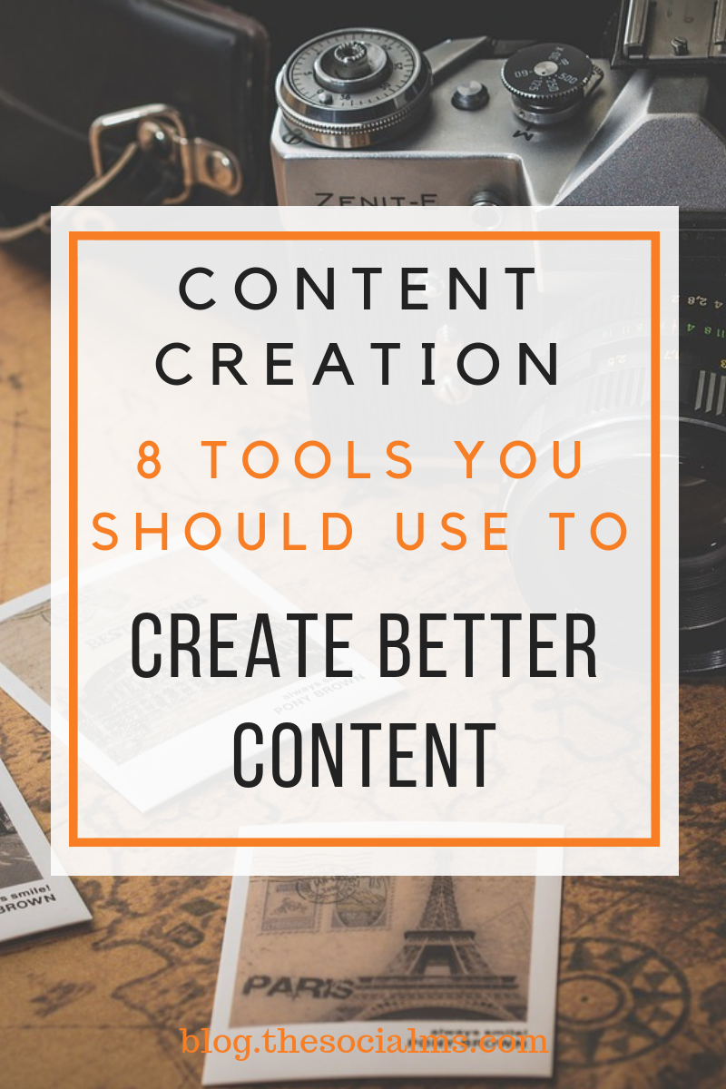 Producing enough and engaging content is one of the biggest challenges for social media and content marketers. Here are some tools, which can help you create more, better and more efficient content. #contentcreation #contentmarketingtools #contentcreationtool #contenttools #blogwriting #blogpostcreation #contentmarketing #bloggingtips