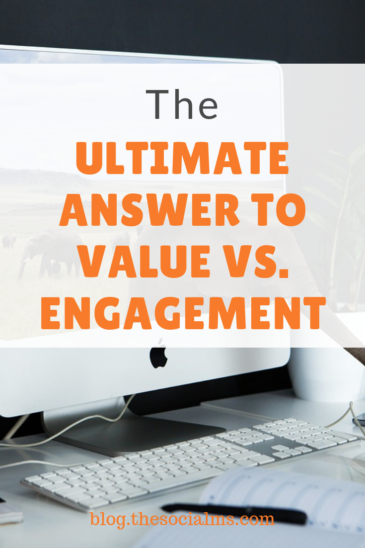 what is more important for your audience: Value or Engagement? What will b better for success in social media marketing? #socialmedia #socialmediamarketing #marketingtactics #socialmediastrategy