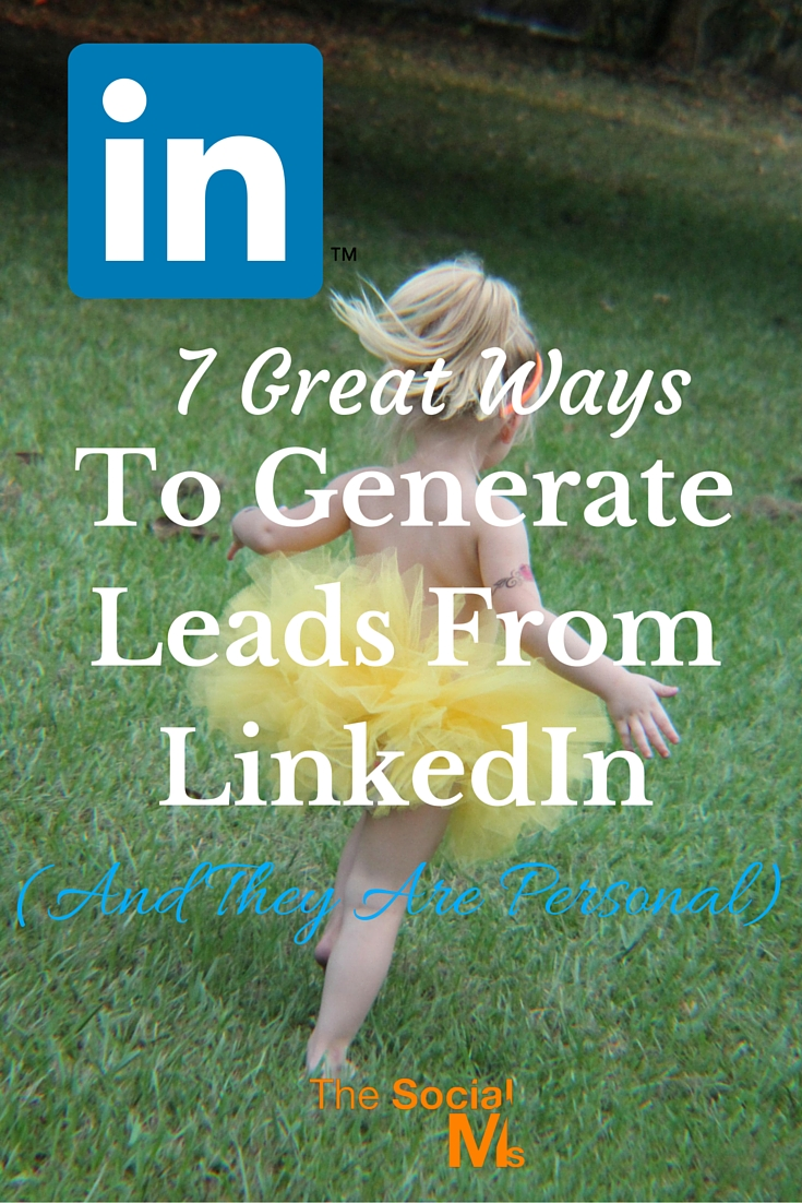 LinkedIn is one of the most efficient places to generate leads, but a lot of people are missing out on it. Here are some ideas how to get targeted leads.