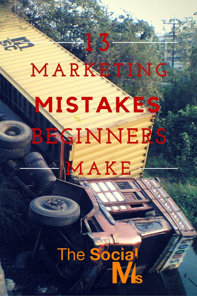Many beginners make the same social media marketing mistakes. Addressing these mistakes young entrepreneurs can learn how to avoid them