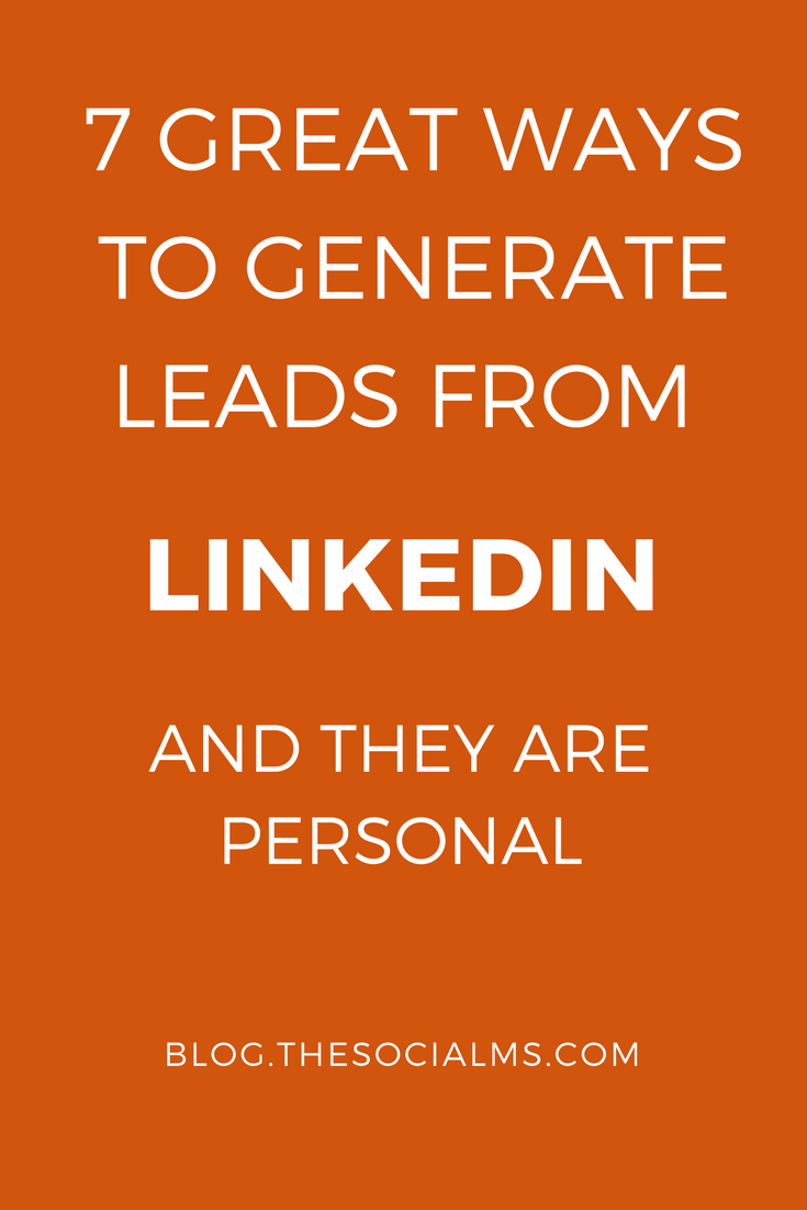 LinkedIn is one of the most efficient places to generate leads, but a lot of people are missing out on it. Here are some ideas how to get targeted leads. lead generation, generating leads, collecting leads, sales funnel