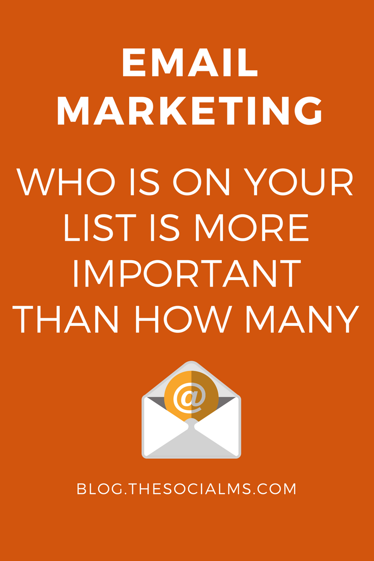 For successful email marketing you need to build a list of subscribers. To find targeted and interested subscribers is much more important than how many.