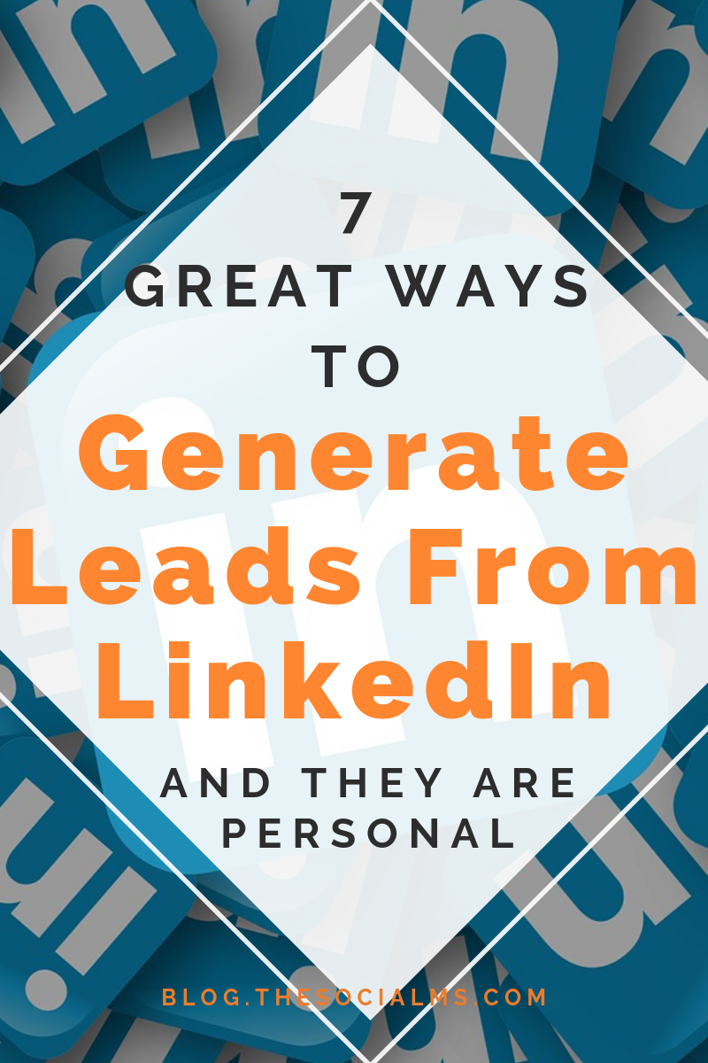 LinkedIn is one of the most powerful places to generate leads - but a lot of people are missing out on it. Entrepreneurs, freelancers or founders could be getting so much more out of LinkedIn. Here are the best ways to generate leads from LinkedIn. #leadgeneration #salesfunnel #onlinebusiness #generatleads #bloggingbusiness #emailmarketing #listbuilding