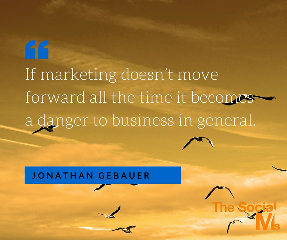 marketing move forward quote
