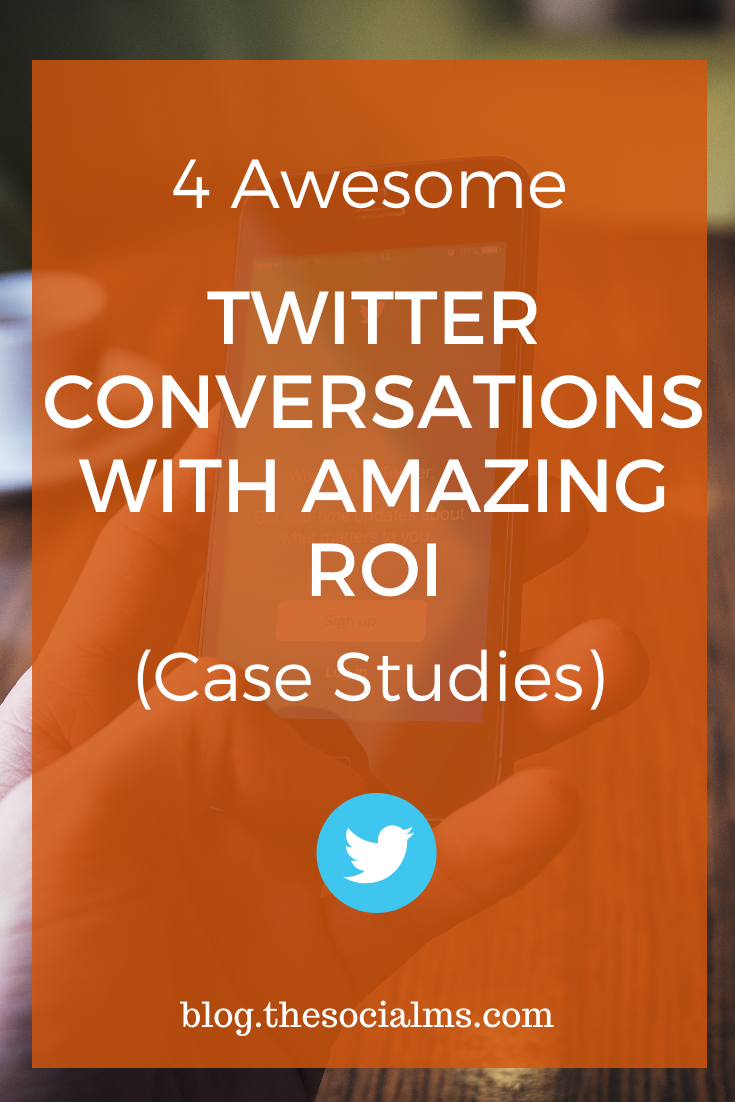 here are 4 examples of companies, who successfully used Twitter conversations to boost their follower numbers, their brand reputation, a particular marketing stunt or their whole business. #twitter #twitterconversations #twittertips #twittermarketing #socialmedia #socialmediaengagement #socialmediatips #socialmediamarketing