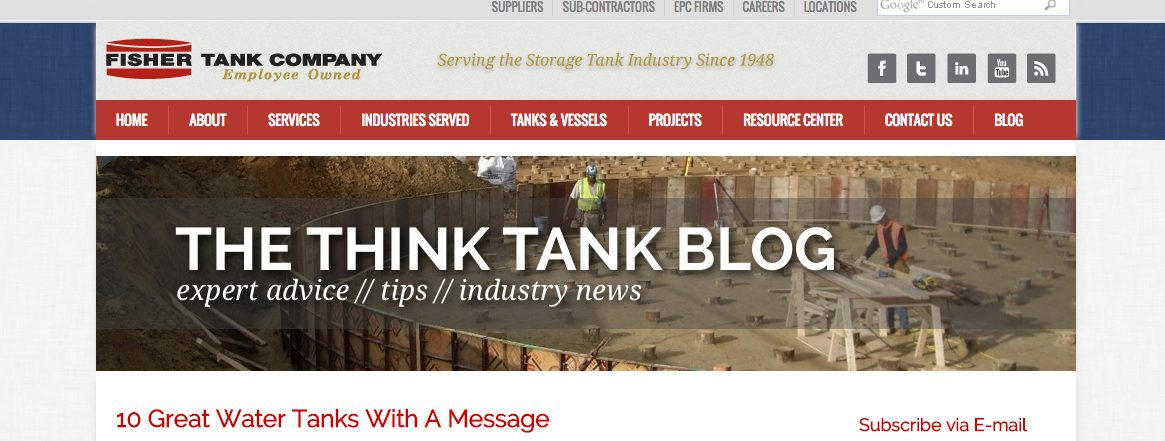 fisher tank content marketing case study