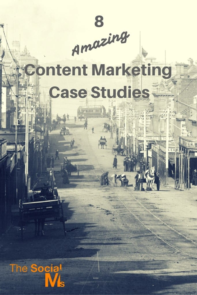 Here are 8 content marketing case studies to show you a variety of goals, strategies and achievements you should consider for your own content marketing