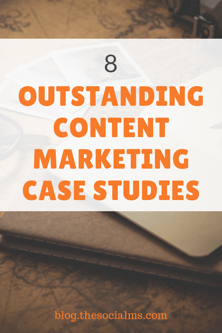 Here are 8 content marketing case studies to show you a variety of goals, strategies, and achievements you may want to consider for your content marketing strategy #contentmarketing #contentstrategy #contentmarketingstrategy #onlinemarkeing #bloggingtips