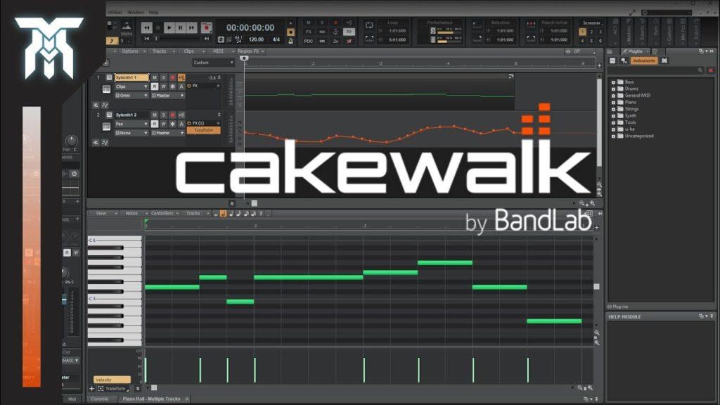 Cakewalk - podcasting setup on a budget