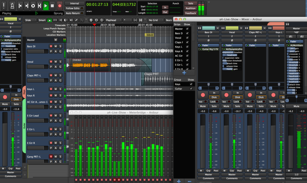 ardour - podcasting setup on a budget
