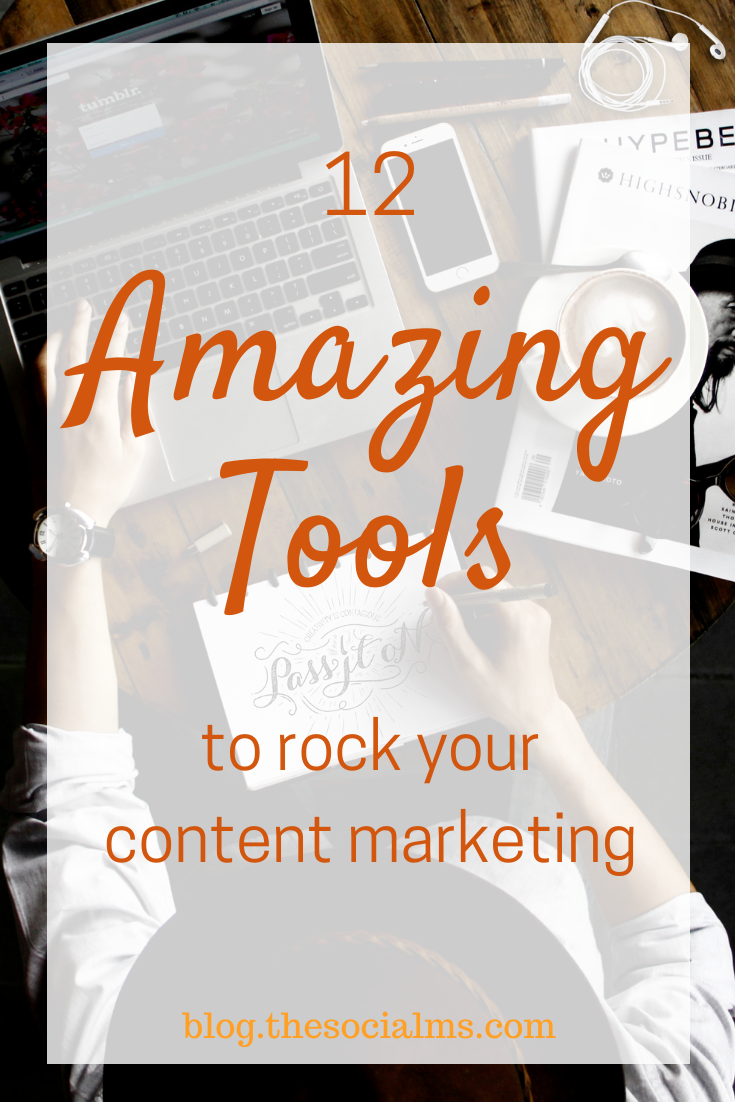 Content marketing is a challenge. It can be difficult enough to create content or to find content to share, but you must also promote your content and get people talking about it. Of course, you can't forget about the need to measure the effectiveness of your content. Fortunately there are a dozen, great tools that can make your content marketing rock. #contentmarketingtools #contentmarketing #contentcreation #marketingtools #onlinemarketingtools