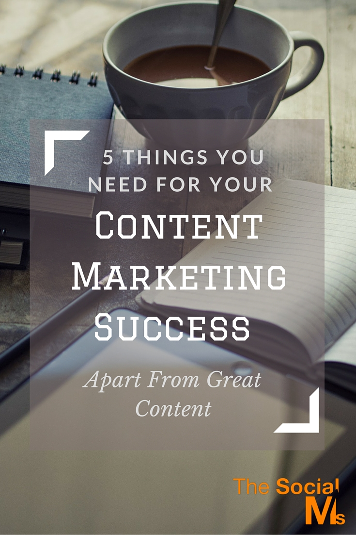Content Marketing is much more than content creation. For real content marketing success you need to know what you want to achieve and work hard for it.