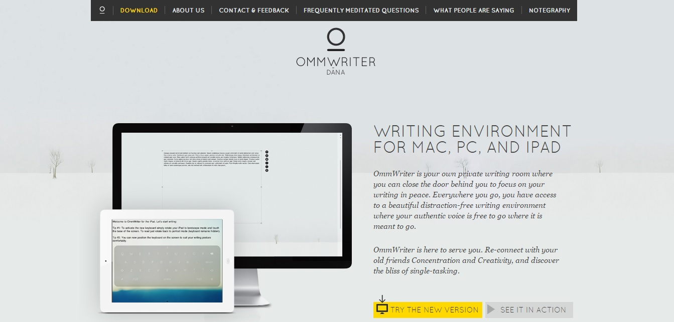 6. OmmWriter