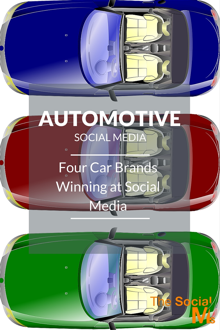 Automotive Social Media - How car brands can win in social media with branding, customer service and customer engagement.