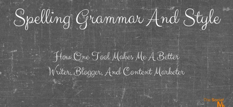 Spelling Grammar And Style