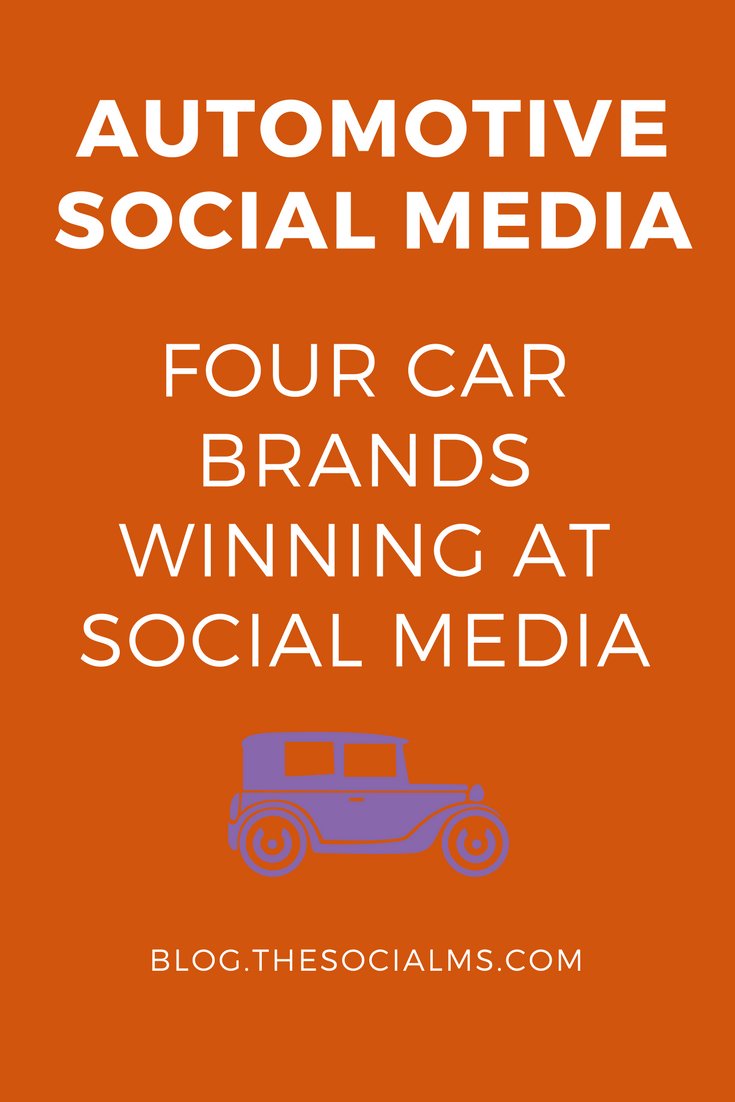 Automotive Social Media - How car brands can win in social media with branding, customer service and customer engagement. - social media marketing, social media tips, social media case studies