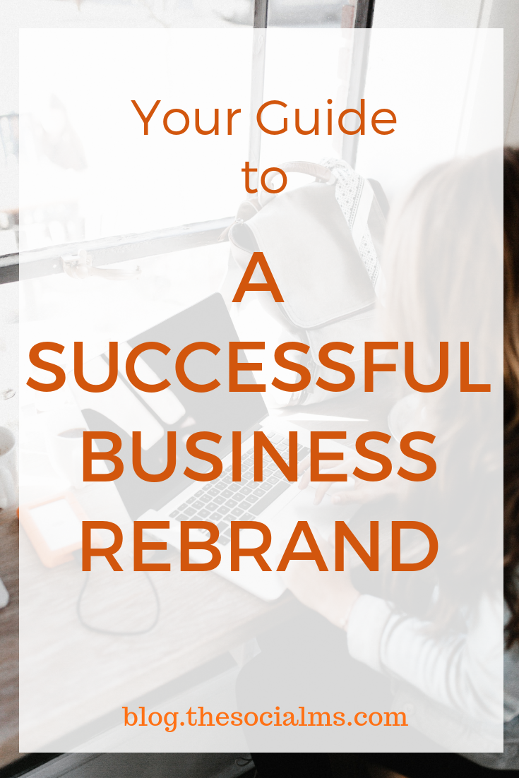 When you know – really know, the way we did – that it's time for your brand to undergo a change, the decision to rebrand is easy. The process of rebranding? Not so much. Expect it to be time-consuming, tedious, and often overwhelming. Here is what you have to consider for your business rebrand #smallbusinessbranding #brandyourbusiness #branding #rebranding #entrepreneurship