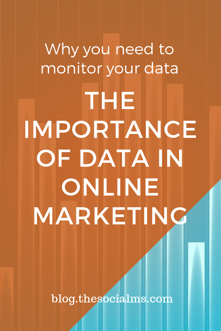 Monitoring - The Importance of Data in Online Marketing. Data gives you the answers to make your marketing decisions. Here is why and how to use marketing numbers to improve your online marketing success. #analytics #monitoring #digitalmarketing #onlinemarketing #marketingoptimization