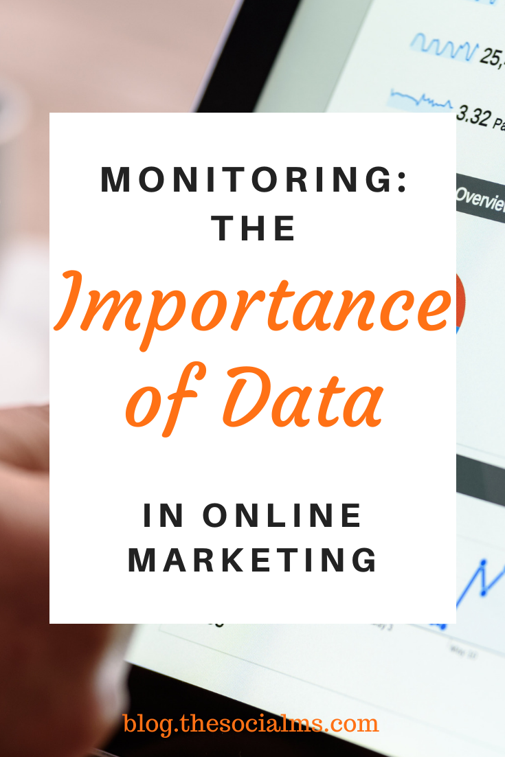 I still see far too many people flying blind in online marketing. And convincing some marketers (or their superiors) that they NEED to collect data, monitor all their activities and carefully track every process and every marketing idea they implement still takes far too much effort. #monitoring #marketingdata #marketingmetrics #analytics #optimization #marketingstrategy