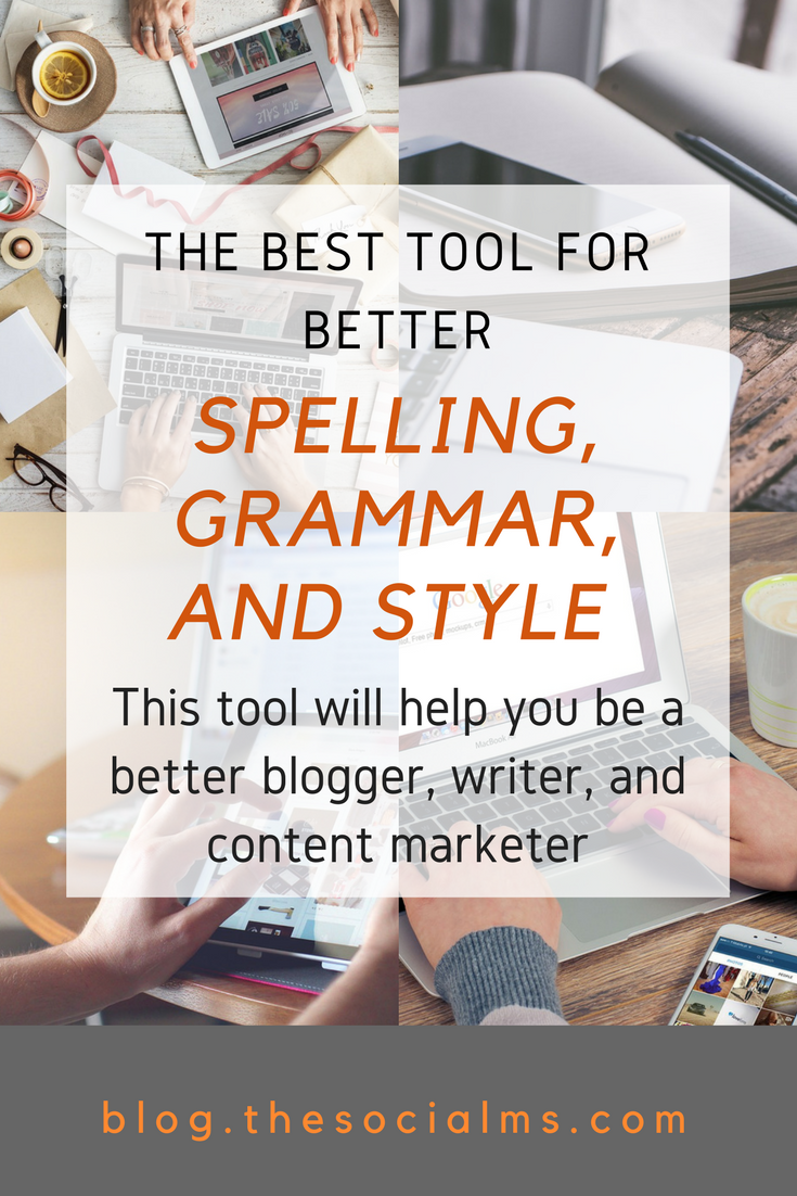 When I became a blogger and content marketer, I found out that professional proofreading and editing wasn't something I could afford. This tool rescued me. how to write better blog posts, make your blog look more professional, blogging tool, better grammar, spell checker