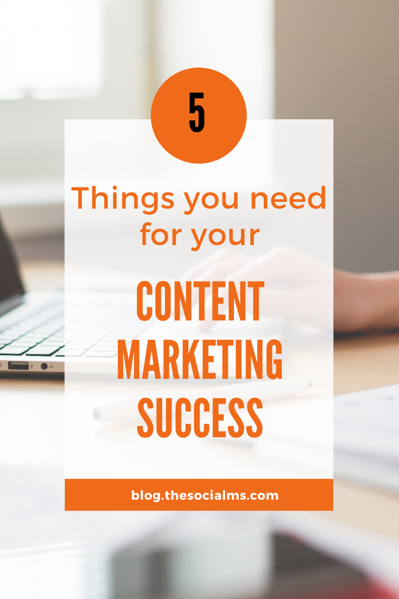 even if your great content will rise to the top, you can still end up with nothing because you lacked some of the other necessary elements of content marketing. So here are the 5 things to consider for your content marketing success – besides creating great content: #contentmarketing #onlinebusiness #marketingstrategy #onlinemarketing #digitalmarketing #marketingsrategy #smallbusinessmarketing #startupmarketing