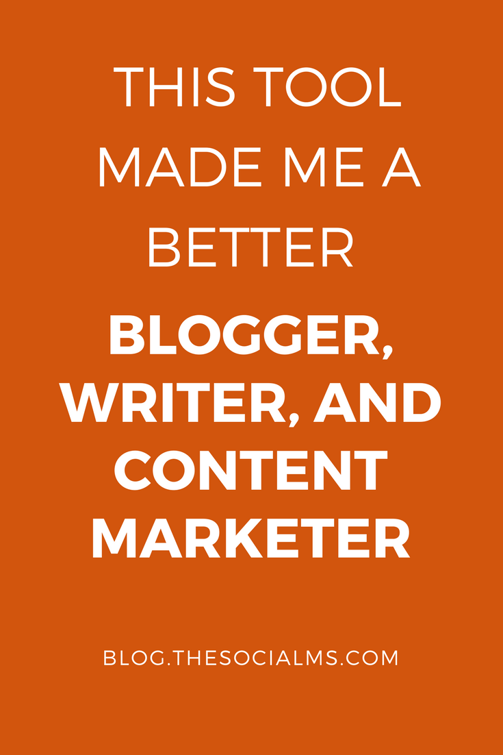 When I became a blogger and content marketer, I found out that professional proofreading and editing wasn't something I could afford. This tool rescued me.