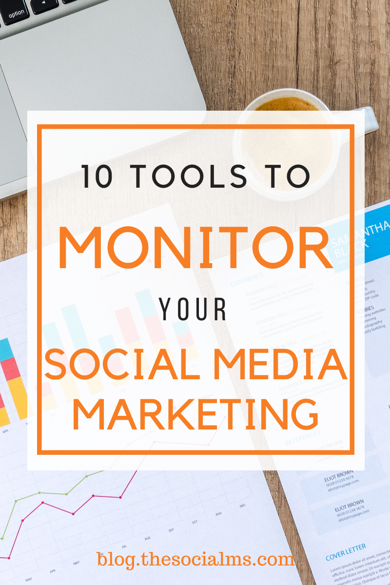 to get the data you need to make decisions in your social media marketing, you need to use some tools. Here are 10 tools that give you the date and numbers you need to monitor, optimize and interpret your social media. #socialmedia #socialmediamarketing #monitoring #analytics #marketingmetrics #marketinganalytics