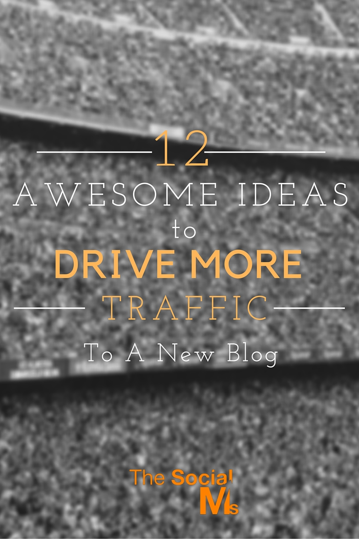 A big challenge for new bloggers is to drive more traffic to a new blog. Here are 12 ideas to help you drive more traffic to your new blog.