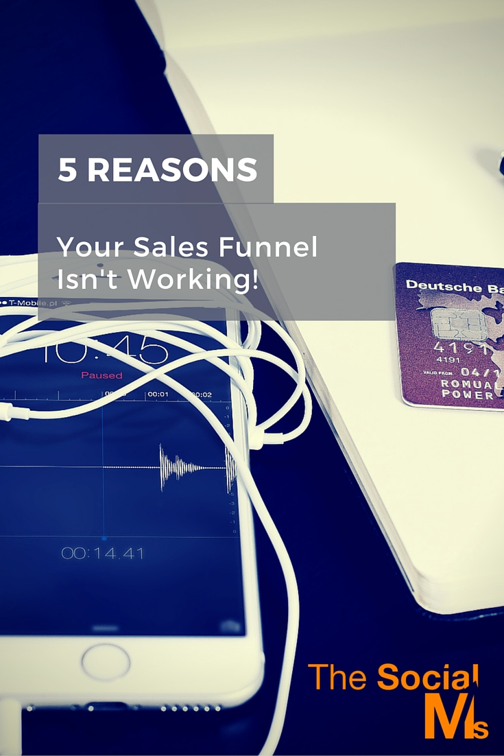 Sales funnels are everywhere - but they almost never work right from the start. Here the most common reasons for the underperformance of your sales funnel.