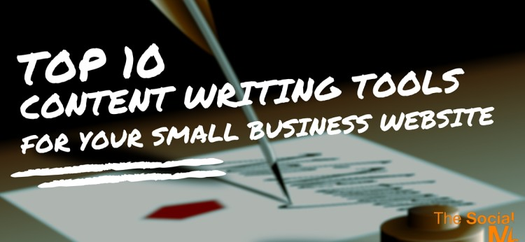 Top 10 Content Writing Tools for Your Small Business Website