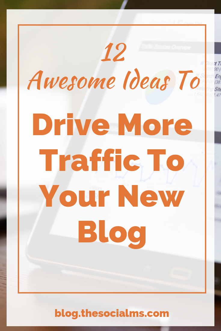 One of the biggest challenges for bloggers is to drive more traffic to their new blog. Here are some simple ideas to grow your blog audience and increase your blog traffic. #blogtraffic #trafficgeneration #bloggingtips #blogaudience #startablog #bloggingforbginners