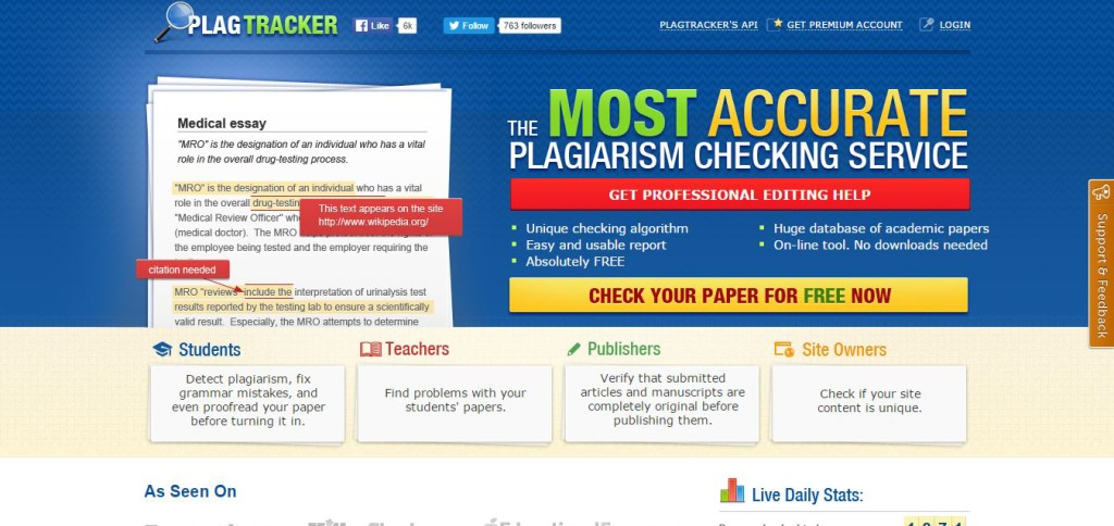 website that checks essays for plagiarism A website to check plagiarism that compares your text with billions of digital resources get a comprehensive report with a plagiarism score.
