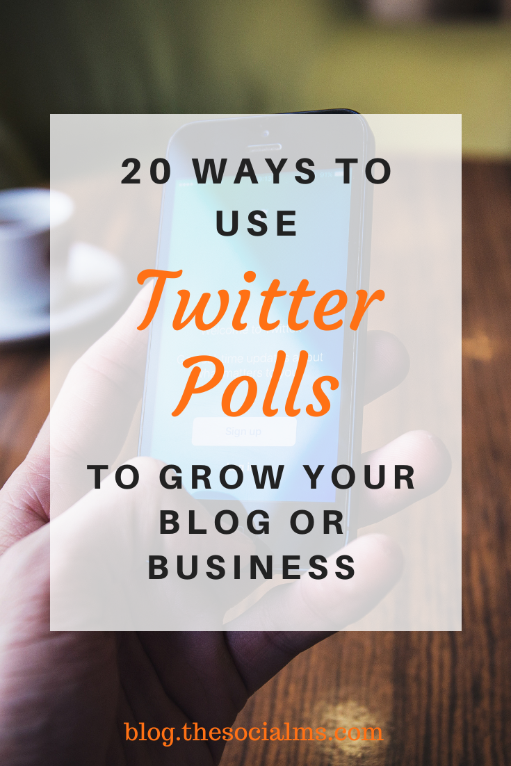 Twitter Polls. This new type of tweet allows you to ask your audience questions and get a statistic answer from your Twitter crowd. Here is what you can do with Twitter polls. #twitter #twitterfeatures #twittertips #twittermarketing #twitterstrategy