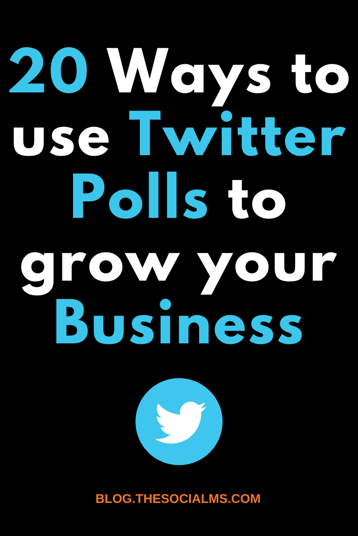 There are so many great possibilities with these Twitter polls, and they are easy and fun to use. To give you some ideas about what you can do with Twitter polls, here are some examples of how they already are used and some ideas about how you could use them #twitter #twitterfeature #twittertip #twittermarketing #socialmedia #socialmediatip #socialmediamarketing