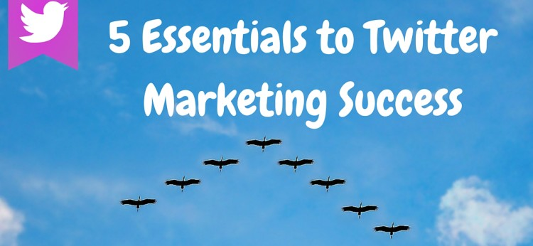 5 Essentials to Twitter Marketing Success