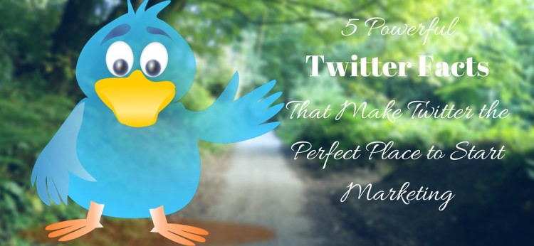 5 Powerful Twitter Facts That Make Twitter the Perfect Place to Start Marketing