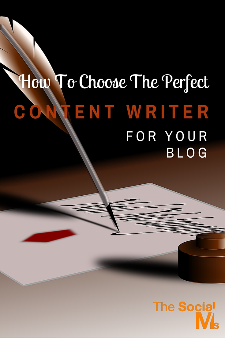 If you choose to find a partner to develop your blog, it's essential that you find a content writer who understands your message and tone.
