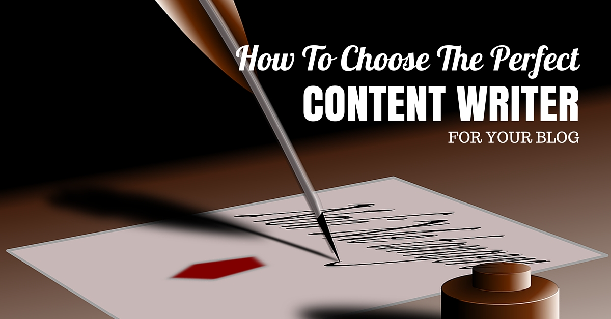 How to choose the perfect content writer for your blog for How to choose a builder for your house
